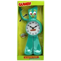 Gumby 3D Motion Animated Clock