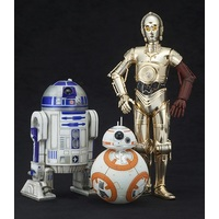 R2-D2 & C-3PO with BB-8 ArtFX+ 1/10 Scale Figures